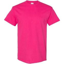 vaatteet Miehet Lyhythihainen t-paita Gildan 5000 Heliconia
