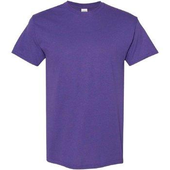 vaatteet Miehet Lyhythihainen t-paita Gildan 5000 Lilac