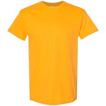 vaatteet Miehet Lyhythihainen t-paita Gildan 5000 Gold