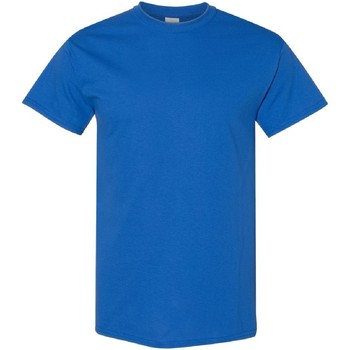 vaatteet Miehet Lyhythihainen t-paita Gildan 5000 Royal