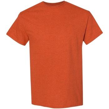 vaatteet Miehet Lyhythihainen t-paita Gildan 5000 Antique Orange