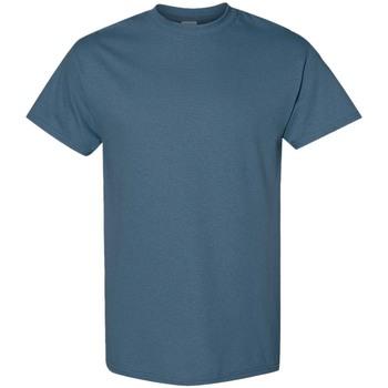 vaatteet Miehet Lyhythihainen t-paita Gildan 5000 Indigo Blue