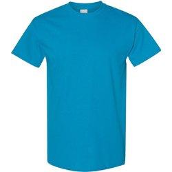 vaatteet Miehet Lyhythihainen t-paita Gildan 5000 Sapphire