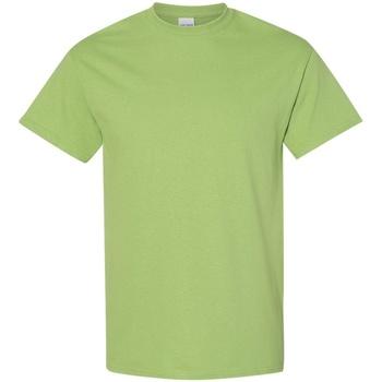 vaatteet Miehet Lyhythihainen t-paita Gildan 5000 Kiwi