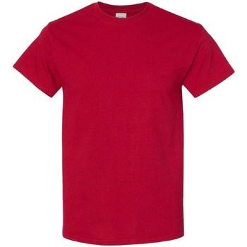 vaatteet Miehet Lyhythihainen t-paita Gildan 5000 Antique Cherry Red