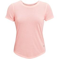vaatteet Naiset Lyhythihainen t-paita Under Armour Streaker Run Short Sleeve Rose