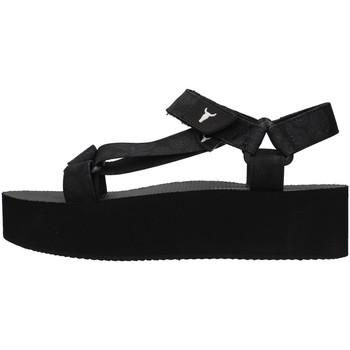 kengät Naiset Sandaalit ja avokkaat Windsor Smith PEEPED BLACK