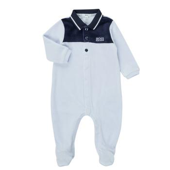 vaatteet Pojat pyjamat / yöpaidat BOSS FILOMENA Sininen