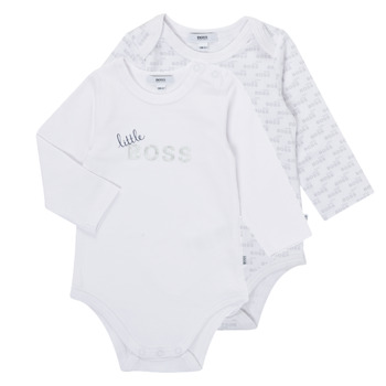 vaatteet Pojat pyjamat / yöpaidat BOSS SEPTINA Valkoinen