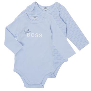 vaatteet Pojat pyjamat / yöpaidat BOSS SEPTINA Sininen