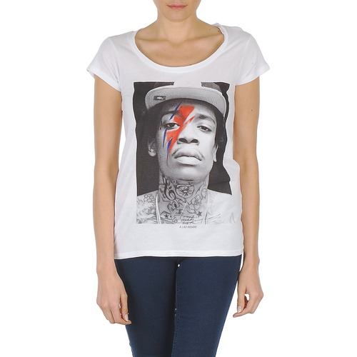 vaatteet Naiset Lyhythihainen t-paita Eleven Paris KALIFA W White