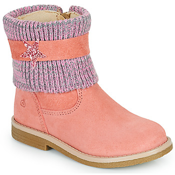 kengät Tytöt Bootsit Citrouille et Compagnie PASTEK Vaaleanpunainen