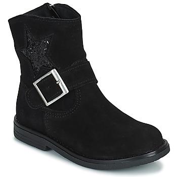 kengät Tytöt Bootsit Citrouille et Compagnie POUDRE Musta