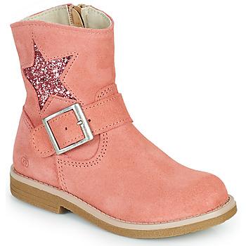 kengät Tytöt Bootsit Citrouille et Compagnie POUDRE Vaaleanpunainen