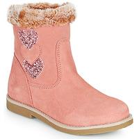 kengät Tytöt Saappaat Citrouille et Compagnie PARAVA Vaaleanpunainen