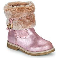 kengät Tytöt Bootsit Citrouille et Compagnie PAKRETTE Vaaleanpunainen