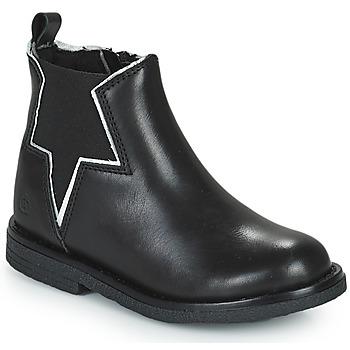 kengät Tytöt Bootsit Citrouille et Compagnie PRATO Musta