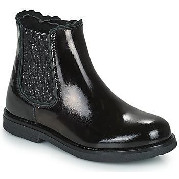 kengät Tytöt Bootsit Citrouille et Compagnie PRAIRIE Musta