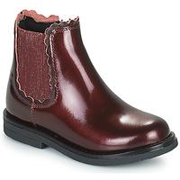 kengät Tytöt Bootsit Citrouille et Compagnie PRAIRIE Viininpunainen