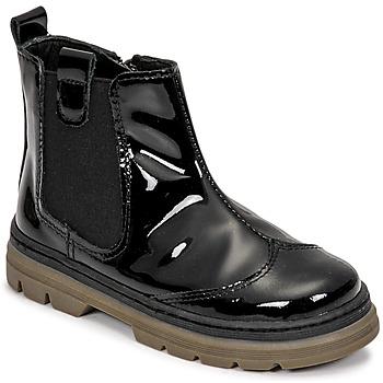 kengät Tytöt Bootsit Citrouille et Compagnie PATATA Musta
