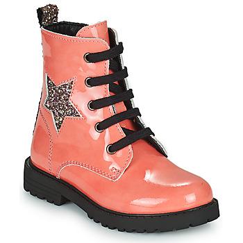 kengät Tytöt Bootsit Citrouille et Compagnie PICOTI Vaaleanpunainen