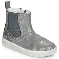 kengät Tytöt Bootsit Citrouille et Compagnie PIMANE Harmaa