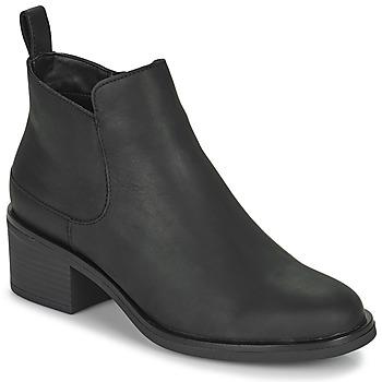 kengät Naiset Nilkkurit Clarks MEMI ZIP Musta