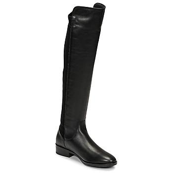 kengät Naiset Ylipolvensaappaat Clarks PURE CADDY Musta