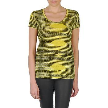 vaatteet Naiset Lyhythihainen t-paita Eleven Paris DARDOOT Yellow
