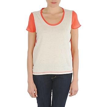 vaatteet Naiset Lyhythihainen t-paita Eleven Paris EDMEE Beige / Orange
