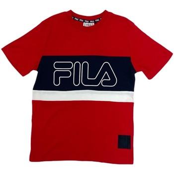 vaatteet Lapset Lyhythihainen t-paita Fila 688138 Punainen