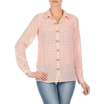 vaatteet Naiset Paitapusero / Kauluspaita Manoush CHEMISE ML ALIZE Vaaleanpunainen