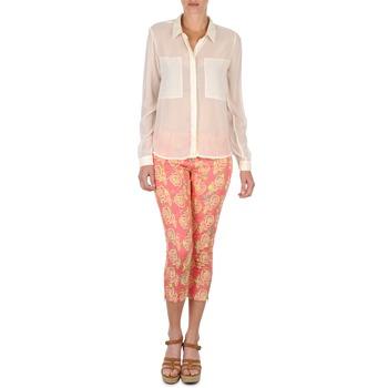 vaatteet Naiset Caprihousut Manoush PANTALON GIPSY JEANS Pink