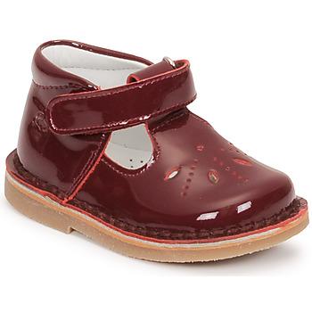 kengät Tytöt Balleriinat Citrouille et Compagnie OTAL Viininpunainen