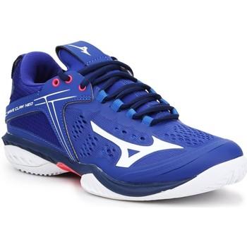 kengät Miehet Tenniskengät Mizuno Wave Claw Neo 71GA207020 blue, white, pink