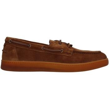 kengät Miehet Mokkasiinit Rossano Bisconti 463-03 BROWN