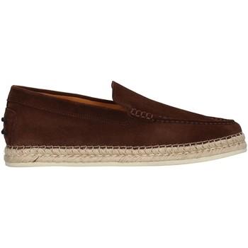 kengät Miehet Mokkasiinit Rossano Bisconti 462-01 BROWN