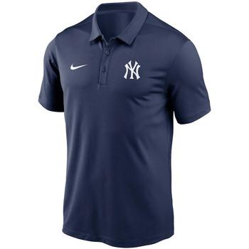 vaatteet Miehet Lyhythihainen poolopaita Nike Polo Team Logo Franchise Performance New York Yankees bleu navy