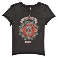 vaatteet Tytöt Lyhythihainen t-paita Only KONLUCY Musta