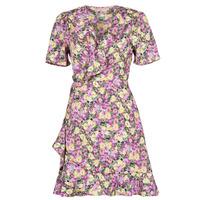 vaatteet Naiset Lyhyt mekko Moony Mood OHLALA Violetti