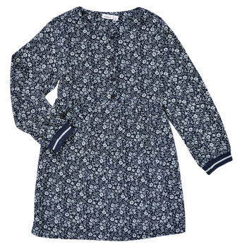 vaatteet Tytöt Lyhyt mekko Name it NKFKARINFRA LS DRESS Laivastonsininen