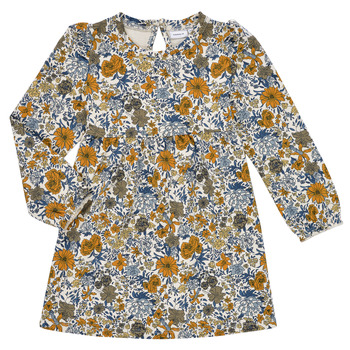 vaatteet Tytöt Lyhyt mekko Name it NMFLALISA SWEAT DRESS Monivärinen