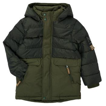 vaatteet Pojat Parkatakki Name it NKMMANUEL JACKET Khaki