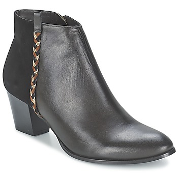 kengät Naiset Nilkkurit Bocage MANNUELA Black