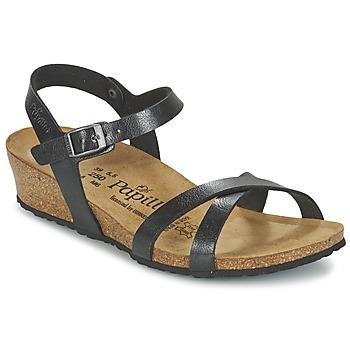 kengät Naiset Sandaalit ja avokkaat Papillio ALYSSA Black
