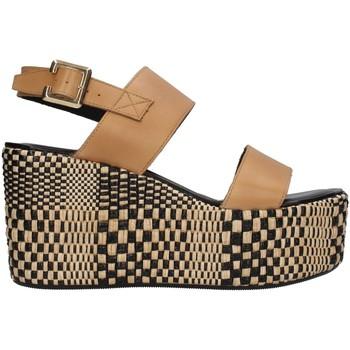 kengät Naiset Sandaalit ja avokkaat Paola Ferri D7421 BEIGE