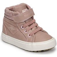 kengät Tytöt Korkeavartiset tennarit Kangaroos KAVU III Vaaleanpunainen