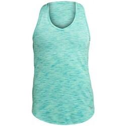 vaatteet Naiset Lyhythihainen t-paita Saucony SAW800093 Vaaleanvihreä