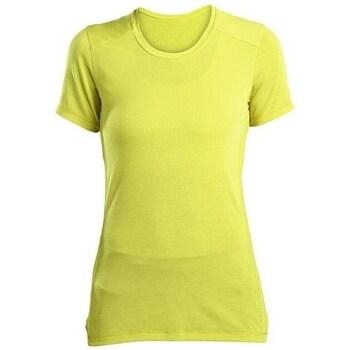 vaatteet Naiset Lyhythihainen t-paita Saucony SAW800023 Keltaiset