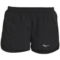 vaatteet Naiset Shortsit / Bermuda-shortsit Saucony SAW800086BK Mustat
